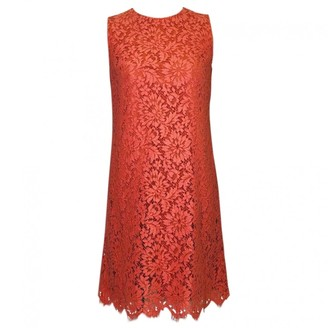 Dolce & Gabbana Orange Lace Dress for Women