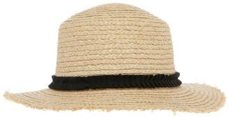Piper Raw Edge Raffia Boater Summer Hats