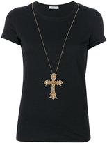 Dondup cross pendant T-shirt