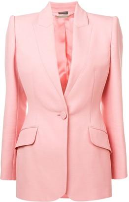 Alexander McQueen single-breasted blazer