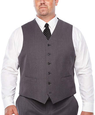 STAFFORD Stafford - Big and Tall Travel Stretch Classic Fit Suit Vest