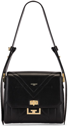 Givenchy Medium Eden Leather Bag in Black | FWRD