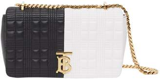 Burberry Small Two-Tone Shoulder Bag