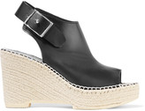 McQ by Alexander McQueen Leather wedge sandals