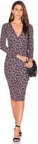 Clayton Flora Crepe Eisley Dress