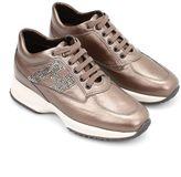 Hogan Rhinestone Interactive Sneakers