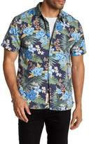 Lucky Brand Short Sleeve Tropics Aloha Classic Fit Shirt