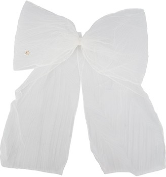Maison Michel Wicole tulle bow hair clip