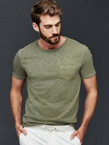Gap Garment dyed slub t-shirt