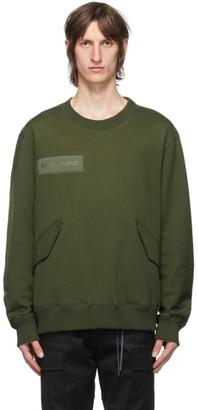 Mastermind Japan Green M51 Sweatshirt