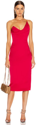 Cushnie Sleeveless Pencil Dress in Cerise | FWRD