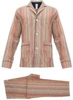 Paul Smith - Signature Striped Cotton Pyjamas - Mens - Multi