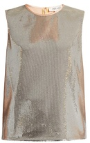 Diane von Furstenberg Sequin-embellished top