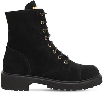 Giuseppe Zanotti 30mm Suede Ankle Boots