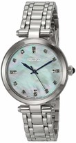 Seiko Women's Ladies' Diamond Japanese Quartz Stainless Steel Strap Silver 13 Casual Watch (Model: SRZ529)