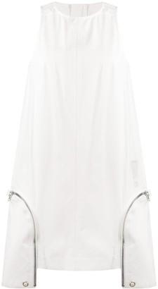 Rick Owens Tecuatl cargo mini dress