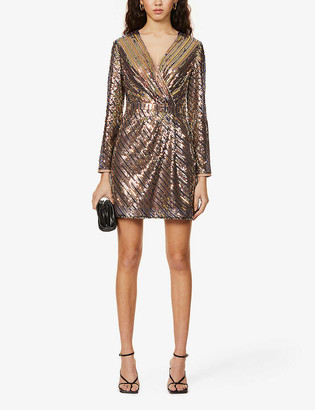 Ted Baker Pippi sequinned mini dress