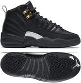 Jordan Kid's Air 12 Retro BG, /WHITE-MTLLC GOLD, Youth Size 5.5