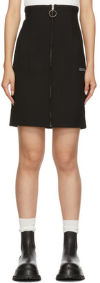 Off-White Black Formal Miniskirt