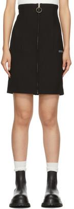Off-White Off White Black Formal Miniskirt