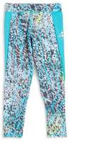 adidas Little and Big Girls Multicolor Athletic Leggings