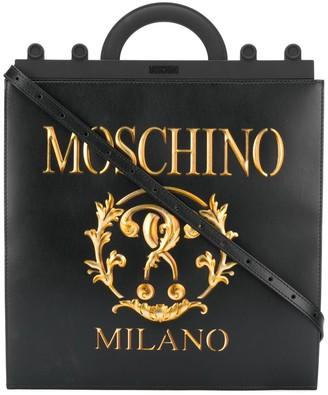 Moschino Roman Double Question Mark tote bag