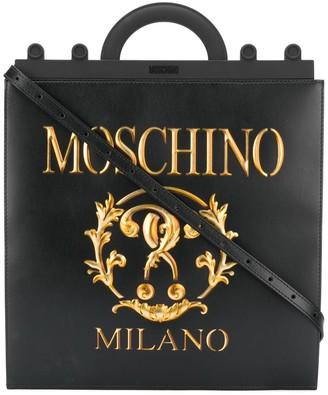 Moschino Roman Double Question Mark tote bag