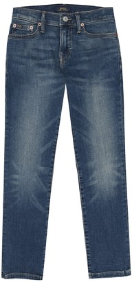 Polo Ralph Lauren Kids Slim stretch-cotton jeans