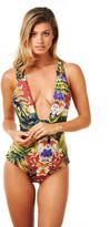 Montce Swim - Safari/Terracotta Vagabond Reversible Monokini