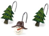 Avanti Snowman Gathering Holiday Bath Accessories Collection