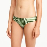 J.Crew Surf hipster bikini bottom in palm leaf print