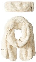 Calvin Klein Women's Faux-Fur Headband and Scarf Two-Piece Set