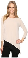 Calvin Klein Double Layered Angle Top