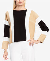 Vince Camuto Colorblocked Dolman-Sleeve Sweater