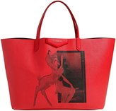 Givenchy Bambi Printed Faux Leather Tote Bag