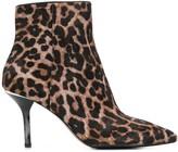 MICHAEL Michael Kors Leopard Print Ankle Boots