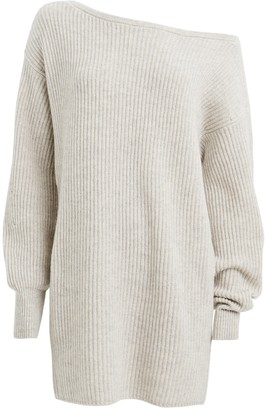 Intermix Jackie Wool-Cashmere Sweater Dress