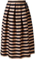 Rochas horizontal striped skirt - women - Silk/Cotton/Polyester - 40