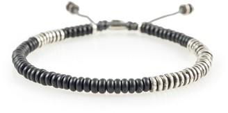 M. Cohen Round Table Bracelet in Black Onyx