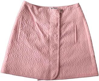 Carven Pink Skirt for Women