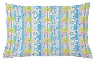 """East Urban Home Indoor/Outdoor Floral Lumbar Pillow Cover East Urban Home Size: 16"""" x 26"""""""
