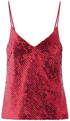 Galvan Exclusive to Mytheresa Sequined camisole
