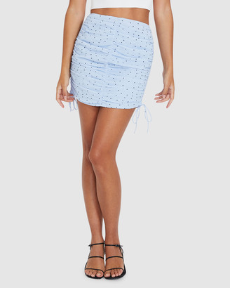 Alice In The Eve Helena Ruched Mini Skirt