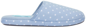 Easy Steps Suzie Pale Blue Spot Slipper