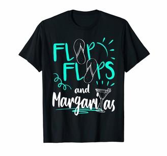 Flip flops Margaritas Summer Vacation Beach Apparel Gift