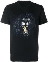 Billionaire lion print T-shirt