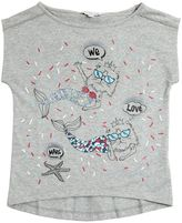 Little Marc Jacobs Mermaids Print Cotton Jersey T-Shirt