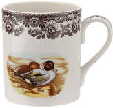 Spode Woodland Pintail Coffee Mug - White