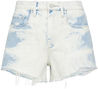Blank NYC The Barrow High Waist Cutoff Denim Shorts
