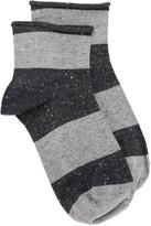 Paul Smith Striped-Pattern Ankle Socks